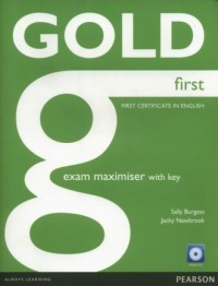 Gold First. Exam Maximiser with key (+ CD) - okładka podręcznika
