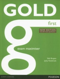 Gold First. New Exam Maximiser - okładka podręcznika