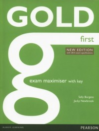 Gold First. New Exam Maximiser with key - okładka podręcznika
