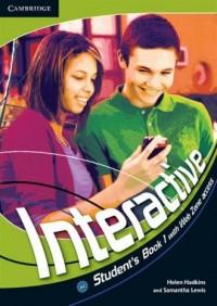Interactive 1. Students Book - okładka podręcznika