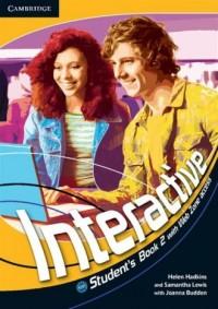 Interactive 2. Students Book with Web Zone access - okładka podręcznika