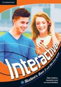 Interactive 3. Students Book with Web Zone access - okładka podręcznika