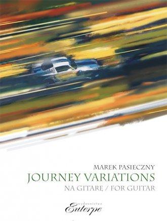 Journey Variations na gitarę - okładka podręcznika