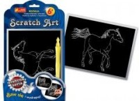 Koń. Scratch Art. Srebrna seria - zdjęcie zabawki, gry