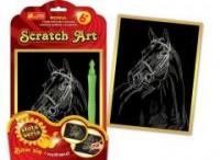 Koń. Scratch Art. Złota seria - zdjęcie zabawki, gry