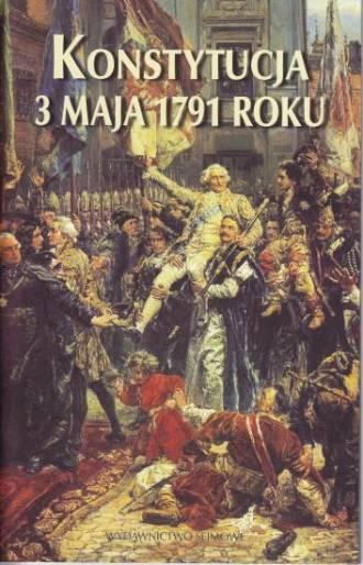 Konstytucja 3 Maja 1791 roku - okładka książki