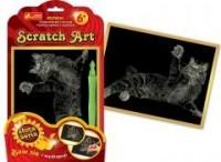 Kot. Scratch Art. Złota seria - zdjęcie zabawki, gry