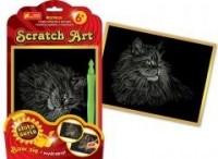 Kotek. Scratch Art. Złota seria - zdjęcie zabawki, gry