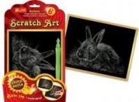 Królik. Scratch Art. Złota seria - zdjęcie zabawki, gry