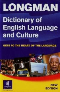 Lomgman Dictionary of English language and culture - okładka podręcznika