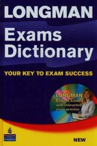 Long Exams Dictionary your key to exam success (+ CD) - okładka podręcznika