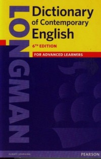 Longman Dictionary of Contemporary English for advanced learners - okładka podręcznika