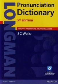 Longman Pronunciation Dictionary for upper intermediate advanced learners (+ CD) - okładka książki