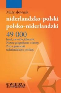 Mały słownik niderlandzko-polski, polsko-niderlandzki - okładka książki