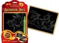 Mały smok. Scratch Art. Złota seria - zdjęcie zabawki, gry