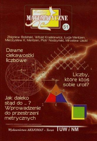 Miniatury matematyczne 51 - okładka podręcznika