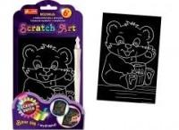 Miś. Scratch Art. Tęczowa seria - zdjęcie zabawki, gry