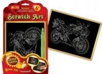 Motocykl. Scratch Art. Złota seria - zdjęcie zabawki, gry