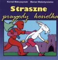 Straszne przygody koziołka - okładka książki