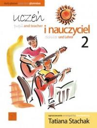 Uczeń i nauczyciel vol. 2 Duety gitarowe - okładka podręcznika