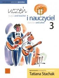 Uczeń i nauczyciel vol. 3 Duety gitarowe - okładka podręcznika