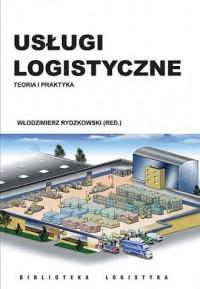 Usługi logistyczne - okładka podręcznika