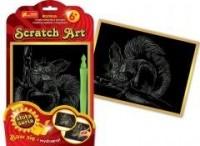 Wiewiórka. Scratch Art. Złota seria - zdjęcie zabawki, gry