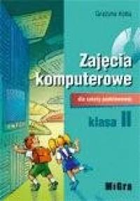 Zajęcia komputerowe. Klasa 2. Szkoła podstawowa. Podręcznik (+ CD) - okładka podręcznika