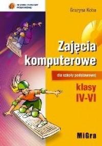 Zajęcia komputerowe. Klasy 4-6. Szkoła podstawowa. Podręcznik (+ CD) - okładka podręcznika