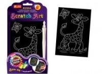 Żyrafa. Scratch Art. Tęczowa seria - zdjęcie zabawki, gry