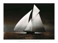 Iverna Yacht, at Full Sail, 1895 WG 09152 - zdjęcie reprodukcji, plakatu