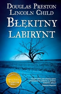Błękitny labirynt - okładka książki