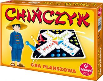 Chińczyk. Gra planszowa - zdjęcie zabawki, gry