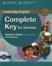 Complete Key for Schools Students - okładka podręcznika