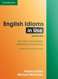 English Idioms in Use Advanced - okładka podręcznika