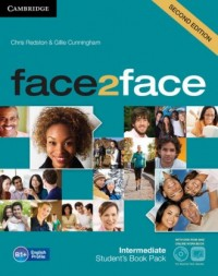 face2face Intermediate Students Book + DVD - okładka podręcznika