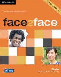 face2face Starter Workbook - okładka podręcznika
