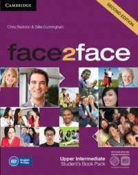 face2face Upper Intermediate Students Book with DVD - okładka podręcznika