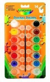 Farby plakatowe (14 szt.) - zdjęcie produktu