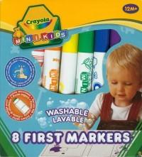 Flamastry zmywalne. Mini Kids (8 szt.) - zdjęcie produktu