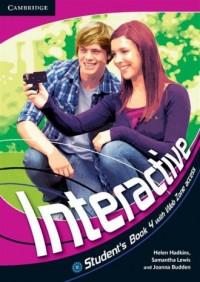 Interactive 4. Students Book with Web Zone Access - okładka podręcznika
