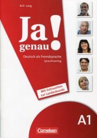 Ja genau! A1 Sprachtraining. Deutsch - okładka podręcznika
