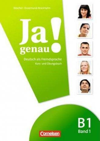 Ja genau! Kurs- und Übungsbuch - okładka podręcznika