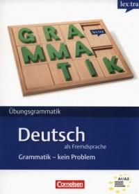 Lextra - Deutsch als Fremdsprache Grammatik - Kein Problem A1-A2 Übungsbuch - okładka podręcznika