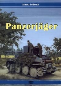 Panzerjager - Janusz Ledwoch - okładka książki