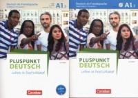 Pluspunkt Deutsch - Leben in Deutschland A1: Teilband 1 Arbeitsbuch und Kursbuch - okładka podręcznika