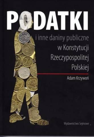 Podatki i inne daniny publiczne - okładka książki