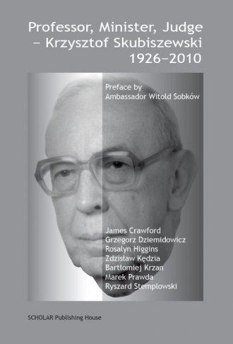 Professor, Minister, Judge - Krzysztof - okładka książki