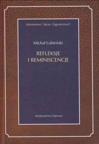 Refleksje i reminiscencje - okładka książki