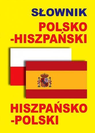 Słownik polsko-hiszpański, hiszpańsko-polski - okładka podręcznika